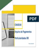 Particularidades BB CNAB240