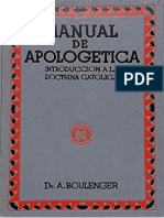 Manual de apologética BOULENGER
