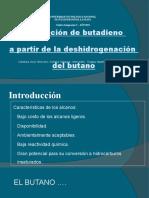 Deshidrogenación de C4 - Presentación Final
