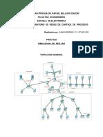 Lab. de Redes Simulacion Red LAN
