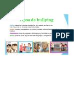 TIPOS DE BULLYNG