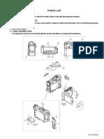 GR-D250US parts list