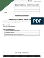 1º - Evaluacion diagnostica