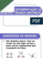 APRESENTAÇÃO DESENHO TÉCNICO MECÂNICO
