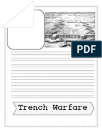 Trench Warfare Note Booking
