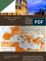 Antiguo imperio romano ARTES
