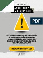 Curso EaD de Mordomia