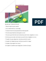 Secretele tenisului de camp