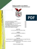 PROCEDIMIENTOS ADMINISTRATIVOS DE LA PDDH