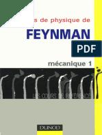 DUNOD - Le Cours de Physique de Feynman - Mécanique 1 - R. Feynman