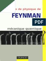 DUNOD - Le Cours de Physique de Feynman - Mécanique Quantique - R. Feynman