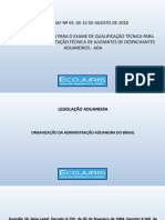 Organização Da Administração Aduaneira