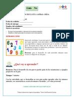 Guía de Aprendizaje GRADO 5 SEDE NARAN