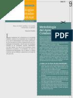 Metodologìas didàcticas centradas en el aprendizaje