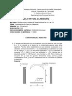 Evaluación Nro. 3 TDC por Radiación  Valor 10%
