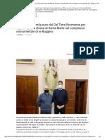 Altofonte, 100 mila euro del Gal Terre Normanne per riqualificare la chiesa di Santa Maria nel complesso monumentale di re Ruggero _ Sicilia Oggi Notizie