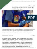 Vaccini, in Sicilia somministrazioni in chiesa il sabato santo_ coinvolte oltre 400 parrocchie, dosi per i fedeli tra i 69 e i 79 anni - Il Fatto Quotidiano