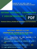 Sfarmaciaclinica 8 Sistema Nacional de Salud