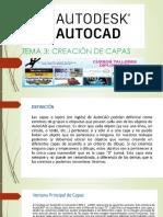 AUTOCAD 2D - CAPAS