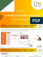 Fase 5 – Proceso de Conversión de Energía a Partir de La Biomasa Caracterizada
