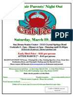 Parents Night Out & Crab Feed