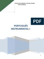 PORTUGUÉS INSTRUMENTAL I