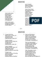 Himnos -CORREGIDO