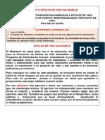 PROYECTO ESTILOS DE VIDA SALUDABLE (1)