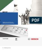 Manuale Lavastoviglie Bosch SM e SB