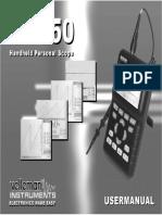 Manuale Velleman HPS50