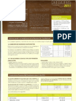 Pensiones No Contributivas 2011