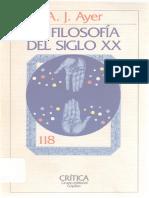 Ayer a J - La Filosofia Del Siglo XX