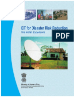 ICT for Disaster Risk Reduction - The Indian Experience