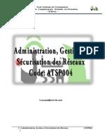 ATSP004 administration des reseaux leçon 3