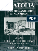 Anatolia Land Men and Gods in Asia Minor Stephen Mitchell Anatolia the Celts in Anatolia and the Impact of Roman Rule. 1 Clarendon Press 1995
