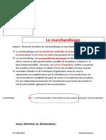 Cours Simplifié Merchandising 1