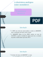 04 - Transístor MOSFET (em construção)