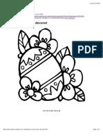 Copilul.ro - Printeaza Oul de Paste Decorat