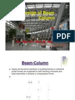 Design of Beam Column [Compatibility Mode]