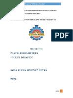 PROYECTO PASTELERIA-BUFET DULCE DESAFIO