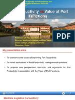 2.4_Port productivity vs Value or port function_TaeWoo Lee_Zhejianf Univ