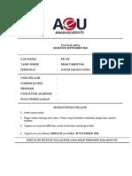 Assignment SSI122 Sirah September 2020