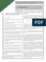 Algerie COVID 19 Reglementation