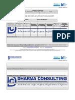 FGPR_300_06 - Plan de Gestión de Las Comunicaciones