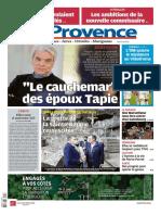 Journal Provence Martigues Du 05-04-2021