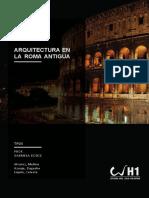 La Arquitectura en La Antigu Roma