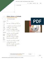 Onde o Amor e a Caridade - Grupo Palestrina de Curitiba - Cifra Club