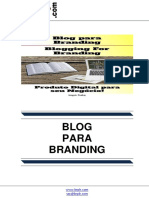 Blog para Branding (Blogging For Branding)
