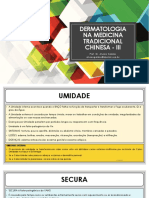 Aula 07 - Dermatologia na medicina tradicional chinesa - III