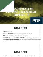 Aula 06 DERMATOLOGIA NA MEDICINA TRADICIONAL CHINESA - II 240321